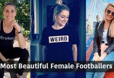 These are the ten most beautiful and attractive female footballers in the world right now. These hottest female soccer players are like beauty models. West Ham Football, German Football Clubs, Germany Team, Female Football Player, Attractive Eyes, Most Beautiful, Beautiful Women, Professional Soccer, Most Popular Sports