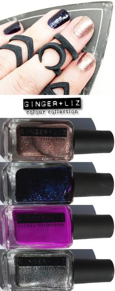 Phyrra brings you the gorgeous and glam Ginger and Liz Nail Polish brand! They're cruelty free, 5 free and vegan!