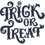 Silhouette Design Store - View Design trick or treat Halloween Stencils, Halloween Vinyl, Halloween Clipart, Halloween Signs, Halloween Cards, Holidays Halloween, Halloween Fun, Halloween Phrases, Halloween Window