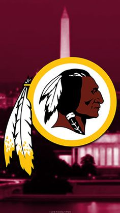 Washington Redskins Mobile City Team Logo Wallpaper