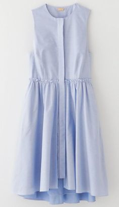 Flounce Layered Shirtdress by KATIE ERMILIO FOR STEVEN ALAN: