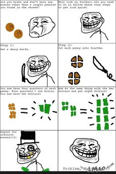Funny picture: Troll Physics