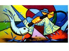 O sertanejo e o peixe. FRETE GRATIS