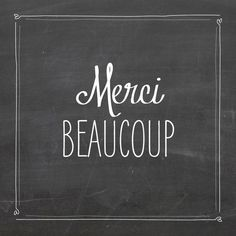 Carte de remerciement Merci ardoise photo by Marion Bizet pour www.fairepartnaissance.fr
