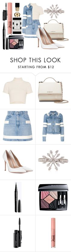 """♥"" by goldelina on Polyvore featuring мода, Staud, Givenchy, Gianvito Rossi, Christian Dior, MAC Cosmetics, Too Faced Cosmetics, Jo Malone и Witchery"