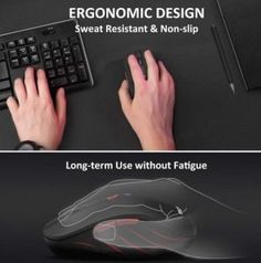 VicTsing Bluetooth Wireless Mouse Review - Paramountind Best Ergonomic Mouse, Mobile Mouse, Computer Accessories, Bluetooth, Android, Usb