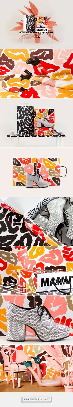 MAMUT invierno 15. on Behance curated by Packaging Diva PD. Oooh I love the shoes and the matching packaging.