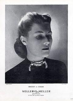 Mellerio dits Meller (Jewels) 1946 Bracelet or Necklace