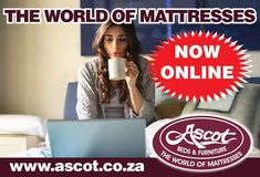 💻🖥📱🖥💻📱🖥📱💻🖥💻 BUY YOUR BED ON THE NET - ASCOT BEDS & FURNITURE ONLINE SALES NOW LIVE! 🖥💻📱🖥📱💻🖥💻🖥📱💻 www.ascot.co.za is the place to go when you are in need of a new bed or mattress... Have a click around and buy yourself an Ascot Beds & Furniture bed on the net.... CLICK, CLICK, ZZZZZZ #AscotBedsAndFurniture #Beds #Mattresses #Furniture #AscotBedsAreBetter #AscotQuality #AscotComfort #FallInLoveWithSleep #VisitOurWebsite #EcommerceAtAscot #AscotBeds #AscotMattress