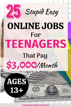 25 Easy Online Jobs for Teens: How to Make Money as a Teenager