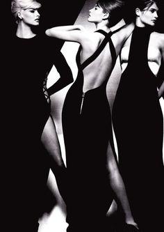 Linda, Christy  Helena for Gianni Versace.