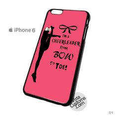 Cheers Cheerleader Bow To Toe Phone Case For Apple,  iPhone 4, 4S, 5, 5S, 5C, 6, 6 +, iPod, 4 / 5, iPad 3 / 4 / 5, Samsung, Galaxy, S3, S4, S5, S6, Note, HTC, HTC One, HTC One X, BlackBerry, Z10