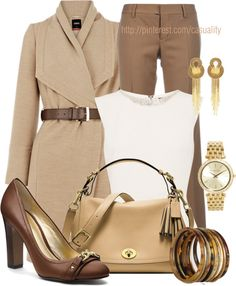 """""""Professional Coach Shoes & Bag"""" by casuality on Polyvore"""