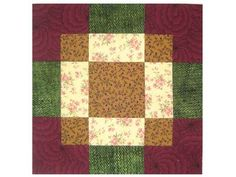 Disappearing Bento Box Quilt Block Pattern