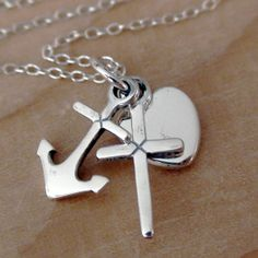 FashionJunkie4Life - FAITH HOPE and CHARITY - Sterling Silver Charm Necklace, $18.00 (http://www.fashionjunkie4life.com/faith-hope-and-charity-sterling-silver-charm-necklace/)