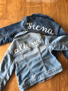 Painted Jackets, Hand Painted, Denim, Places, Fashion, Moda, Fashion Styles, Fasion, Jeans
