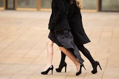 Photo Of The Day: Bare Legs Were SO Yesterday