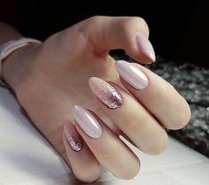 New nails art facile fete 17 Ideas Pink Manicure, Pink Nails, Glitter Nails, My Nails, Polish Nails, Fall Manicure, Pink Glitter, Fabulous Nails, Gorgeous Nails