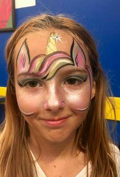 Fast unicorn forehead design.