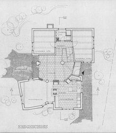 Haus Dierauer, Haldenstein, Landquart, cantonof Graubünden, Switzerland. Peter Zumthor, 1976.