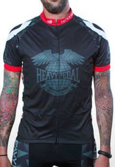 d7dbf3d79 Heavy Pedal Flying Tigers Cycling Jersey The Heavy Pedal Cycling Wear