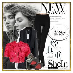 """""""shein"""" by mirka31 ❤ liked on Polyvore featuring Luichiny"""