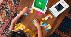 Osmo magically turns your iPad into an educational game system. Osmo Coding games foster creativity and build confidence! Get Words, Tangram, Coding and more today! Teaching Kids To Code, Kids Learning, App Block, Augmented Reality Games, Kids Blocks, Learn To Code, Creative Thinking, Kids Education, Toys For Boys