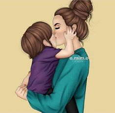 Quotes cute girly mom new ideas Mother And Daughter Drawing, Mother Art, Boy Post, Mommy Tattoos, Girly M, Dibujos Cute, Mom Daughter, Mothers Love, Mom And Baby