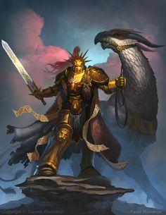 http://wellofeternitypl.blogspot.com | Stormcast Eternals Artwork | Gryph-Charger  #artwork #art #aos #warhammer #40k #40000 #arts #artworks #gw #gamesworkshop #wellofeternity #wargaming #stormcast #eternals