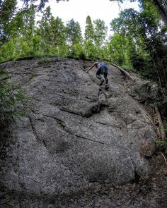 Bouldering with bæ  . . . . . . . . . . #europe #bouldering #nuuksio #travel #traveler #traveling #travelgram #finnishboy #landscape #landscape_lovers #finnish #travelphotography #instatravel #instapic #instagramers #visithelsinki #f4f #inst_view #nature #hiking #follow #followme #followforfollow #fashion #love #nature #instarunners #trailrunning #gym #fitness