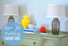 I Can't Believe It's Not New! Tips for Furniture Shopping in Thrift Stores