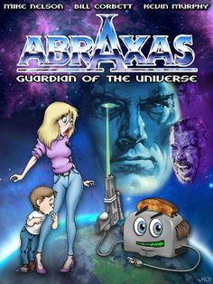Poster I Illustrated for Abraxas Now available on #RiffTrax