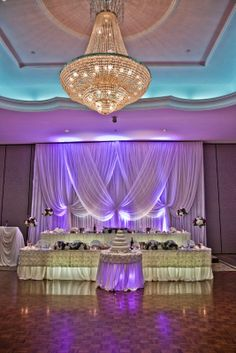 Elegant white sheers with simplicity and romance.