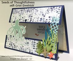 Seeds of Thoughtfulness with Lorin Goodchild Stampin' Up! 2018-2019 Annual Catalogue Sneak Peek: Sea of Textures