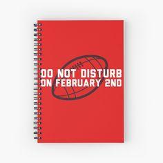'Do not disturb on the Spiral Notebook by HiberniaApparel
