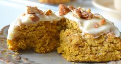 Pumpkin Scones are buttery, flaky, moist, and fragrant with all my favorite fall…