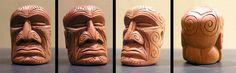 Maori Tiki Face by tflounder on DeviantArt