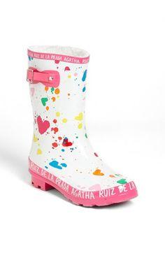 Agatha Ruiz de la Prada 'Diamond' Rain Boot (Little Kid & Big Kid)   Nordstrom