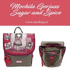 "21f93c205 Consigue la Mini Mochila Escolar Infantil Gorjuss para niña de la colección  ""Sugar and Spice"