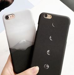 Mount Fuji / Crescent Moon phone case by hhotaru - cute iphone cases - -. - Mount Fuji / Crescent Moon phone case by hhotaru – cute iphone cases – – phonecases - Iphone 8, Smartphone Iphone, Coque Iphone, Iphone Phone Cases, Cool Iphone Cases, Iphone 7 Cases Tumblr, Iphone 7 Plus Cases, Iphone Ringtone, Cell Phone Covers