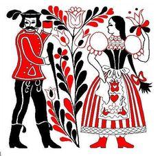 Image result for magyar népmesék motívum Stencil Art, Stencils, Hungarian Embroidery, Border Design, Printing On Fabric, Coloring Books, Vector Free, Drawings, Floral