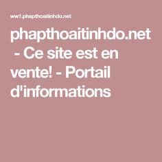 phapthoaitinhdo.net-Ce site est en vente!-Portail d'informations