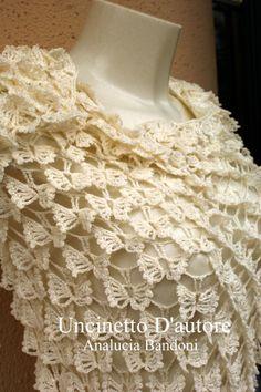 crochet shawl xale croche scialle uncinetto