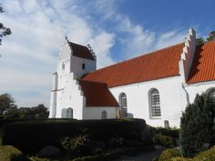 Besser Kirke, where my mother, her family and I was baptized, on the island of Samso, Denmark