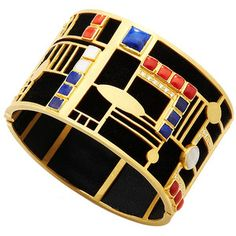Art Deco Maya bracelet | Jewellery for the Mega Rich