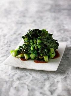 Asian greens. If you've always wanted to make Asian greens taste like the dish you order in a Chinese restaurant, here's how. Plus three other recipes from Adam Liaw's new cookbook.