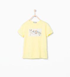 Camiseta mapa de Zara