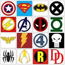 super hero's Logo Super Heros, Geeks, Superhero Symbols, Super Hero Day, Superhero Party, String Art, Halloween Party, Origami, Stencils