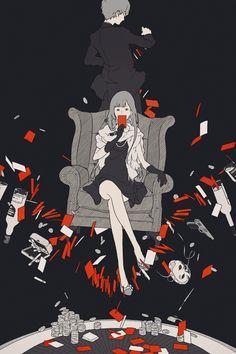 新潮社『六億九、五八七万円を取り返せ同盟!!』(著:古野まほろ) 装画 I drew the cover illustration for the novel by Mahoro Furuno, published by Shinchosha publishing.