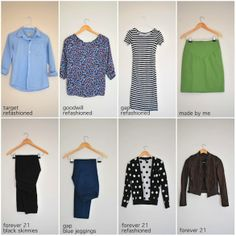 8 Pieces, 14 Outfits (from Merrick's Art) - Putting Me Together blog